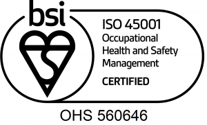 ISO 45001 with cert number